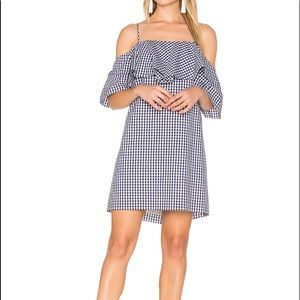 NWT Amanda Uprichard Gingham Marisa Dress